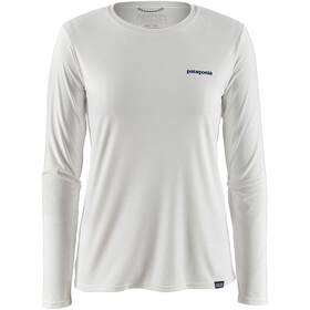 Patagonia Capilene Cool Daily LS Graphic Shirt Women boardshort logo/white